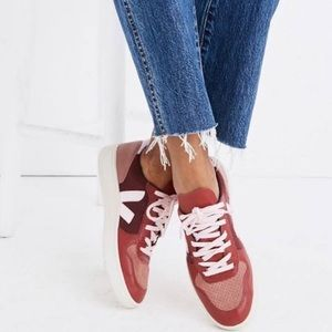 NWT Veja V-10 Sneaker - Burgundy
